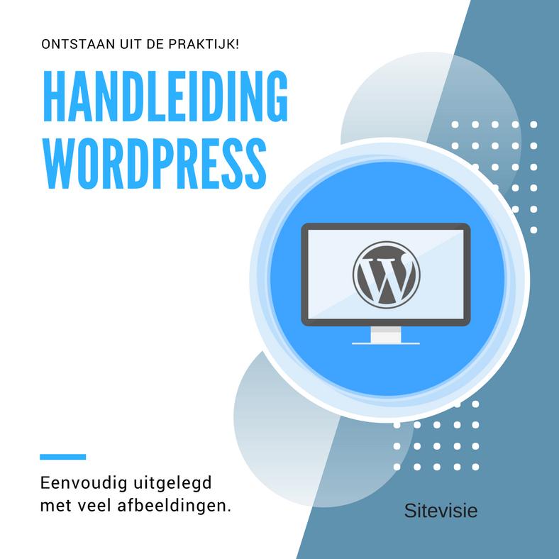 Handleiding WordPress
